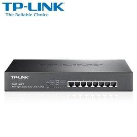 TP~LINK TL~SG1008PE 8~Port Gigabit Desktop Ra