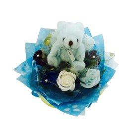 娃娃屋樂園^~^(精緻^)9朵玫瑰香皂花~迷你花束 每束450元 花束 香皂花束