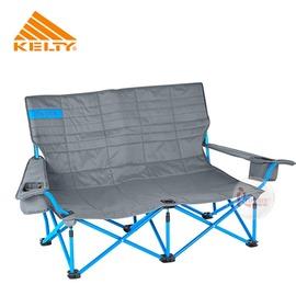 探險家戶外用品㊣61510716SM 美國KELTY LOW LOVESEAT(灰)低座面雙人椅情人椅對對椅摺疊椅折合椅折疊椅沙發椅
