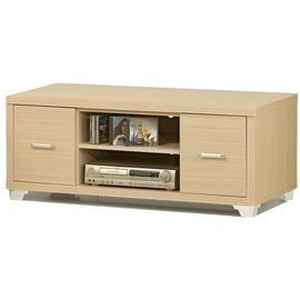 型舍 ^~D155^~古典白樺 雙抽隔板矮櫃 白樺木紋