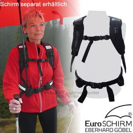 ~德國 EuroSCHIRM~雙手免持撐傘背帶.撐傘背架 於Swing handsfree