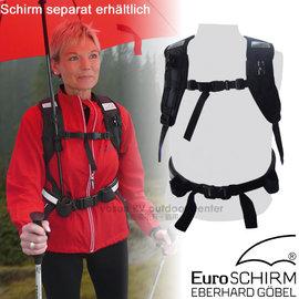 【德國 EuroSCHIRM】雙手免持撐傘背帶.撐傘背架/適用於Swing handsfree及teleScope handsfree系列/H001