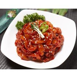 萬花筒 ~韓國空運醬醃生花枝~首爾 120g^(盒^) 韓國料理 口感脆滑  不用等