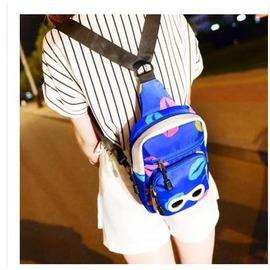 眼鏡胸包兒童包卡通包男女式單肩斜挎多用小包旅行背包潮