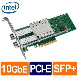 Intel E10G42BFSR ^(10 GbE^)光纖雙埠盒裝伺服器網卡