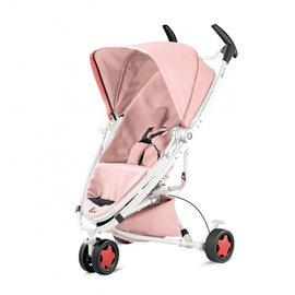 【紫貝殼】『GAA04-1+GCA01』Quinny ZAPP xtra2 Pure 嬰兒手推車【白管粉】+Maxi-Cosi Carbriofix提籃(隨機)