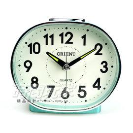 ORIENT 東方錶 簡約電子音數字鬧鈴 鬧鐘 AQ237綠