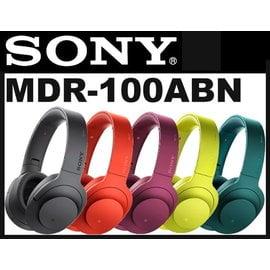 ~台南~東菱~SONY MDR~100 ABN 藍牙 無線 降噪 耳機 ~附 硬殼包