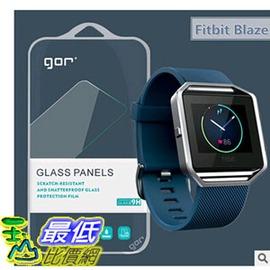 ^~玉山最低 網^~ 鋼化玻璃膜 GOR 果然 Fitbit Blaze 2 2.5D弧邊