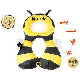 【紫貝殼】『BE02』【以色列Benbat】【2016年新款限量版 】寶寶旅行頸枕/頭枕 適用1-4歲 小蜜蜂【保證公司貨●品質有保證●非水貨】