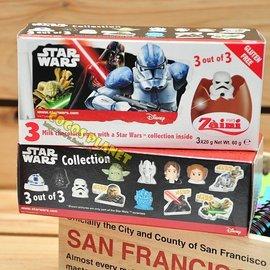 迪士尼巧克力 星際大戰 STAR WARS 黑武士 白兵 阿尼驚喜蛋 出奇蛋 巧克力 玩具