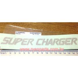 SUBARU 超級增壓器 貼紙 93073TC270