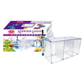 ~藍海水族~ 水族先生MR.AQUA多 外掛式隔離飼育箱 ~產卵盒、隔離、飼育~^(L^)