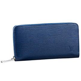 Louis Vuitton LV M60307 EPI 水波紋多 拉鍊長夾.靛藍色 價 2
