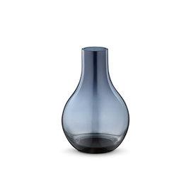 丹麥 Georg Jensen Cafu Glass Vase XS 卡夫 藍色玻璃 花瓶