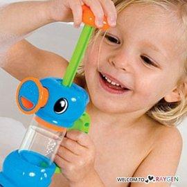 抽水小海馬水龍頭花灑 寶寶洗澡戲水玩具【HH婦幼館】