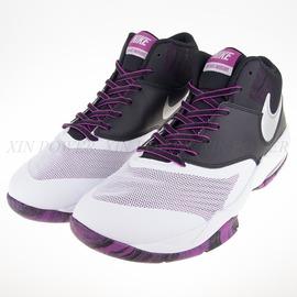NIKE  Air Max Emergent 氣墊 籃球鞋-黑/白/紫-818954101
