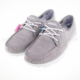 6折出清~Skechers  (女) 健走系列 ON THE GO 帆船鞋-灰-13841GRY