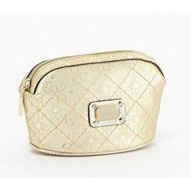 GUESS 金色 化妝包 水餃包 後背包 肩背包 手拿包