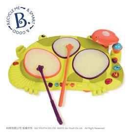【紫貝殼】『CGA73』【美國B.Toys感統玩具】饒舌蛙電子鼓【店面經營/可預約看貨】