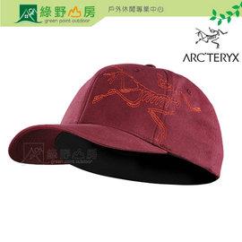 ~綠野山房~Arc teryx 始祖鳥 加拿大 男 Bird Stitch Cap 棒球帽