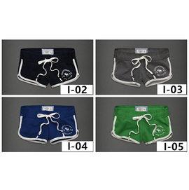 2016 Abercrombie   Fitch A  F熱褲純棉夏裝女式牛肚短褲 瑜伽大