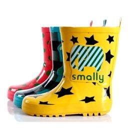smally兒童雨鞋 男女童橡膠防滑雨靴 時尚親子雨鞋水鞋