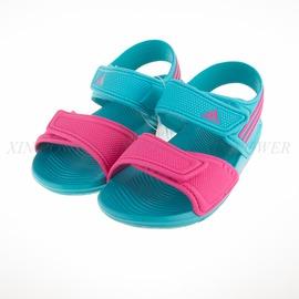 ADIDAS  兒童運動涼鞋-湖水綠-AF3872