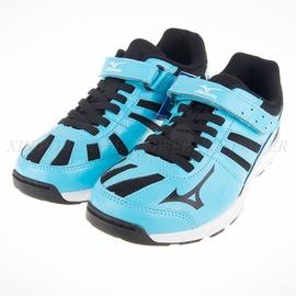 6折出清~Mizuno  RUSH UP Jr 大童鞋 慢跑鞋-黑/藍-K1GC162710