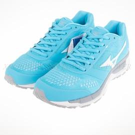 Mizuno  SYNCHRO MX  女慢跑鞋-藍/灰/白-J1GF161901