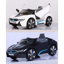 【紫貝殼】『CK28』原廠寶馬BMW I8 雙開門電動車(附遙控)(高階雙驅)W480QHG2贈智高GIGO 怪獸村莊系列