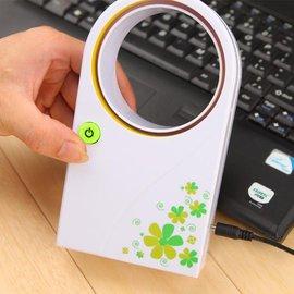 【塔克】无叶扇 迷你风扇 USB线 电池 两用 无叶式 风扇 电扇 风洞扇 手持式 行动风扇 循环扇