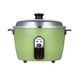 ◤A級福利品‧數量有限◢ SAMPO 聲寶  10人份不鏽鋼配件電鍋 KH-QH10S 綠色