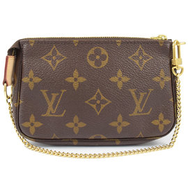 ~9.5成新~Louis Vuitton LV M58009 花紋迷你小鍊包 款 價 7