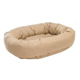BOWSERS寵物 床不沾毛Dount Bed:Flax ^(XL^)