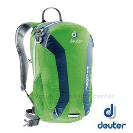 【德國 Deuter】Speed Lite 15L 輕量級透氣健行登山背包.攻頂包.自行車背包.水袋背包 _33111 綠/藍