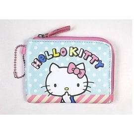 Pun Lapin 正品Sanrio三麗鷗 L型零錢包 票卡包 隨身包凱蒂貓Hello k