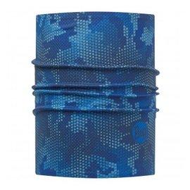 BUFF 銀離子快乾頭盔巾 藍色方塊
