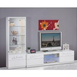 ~FC219~1~賈桂琳2尺白色展示櫃 附玻璃隔板三片