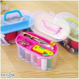 10件套 居家萬能便攜針線盒 針線包工具 手縫線 縫補套裝 家用針線盒 【HH婦幼館】