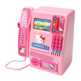 ~Hello Kitty~凱蒂貓 家家酒玩具 Kitty公共電話機 A283
