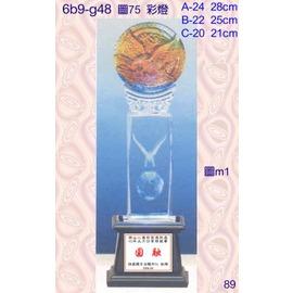 6b9~g48_單座價_彩燈_獎牌獎盃獎座 製作 水晶琉璃工坊 商家