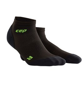 CEP 超輕量~ 壓縮踝襪 女款 黑綠