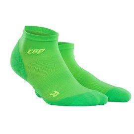 CEP 超輕量~ 壓縮踝襪 男款 螢光綠
