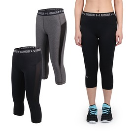 UNDER ARMOUR HG Coolswitch女緊身七分褲(免運 路跑 慢跑 緊身褲【06360529】≡排汗專家≡