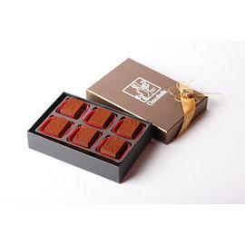~巧克哈客巧克力 ~70^%原味生巧克力 (6入)