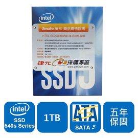 Intel 540s~SSDSCKKW010X6X1 ^(M.2 2280^) 1TB 固