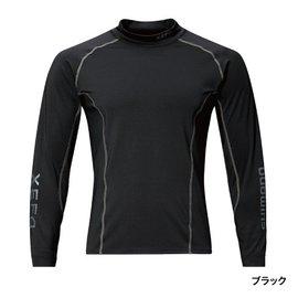 ◎百有釣具◎SHIMANO IN-290P XEFO防曬衣 釣魚衫(長袖) #L #XL 鎖定防曬效果的UPF50+ 現貨黑色