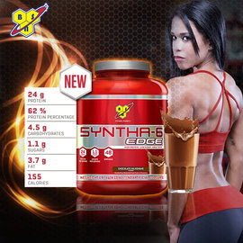 BSN OCE Syntha–6 EDGE 高蛋白 酵素乳清酪蛋白長效乳清 ^(3.7磅^
