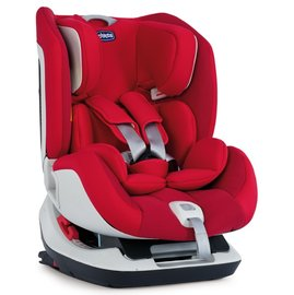 【限時加贈 Diono 汽車座椅保護墊(黑)】『GCG05-2』義大利 Chicco Seat Up 012 Isofix 安全汽座(自信紅) 義大利原裝進口【公司貨】